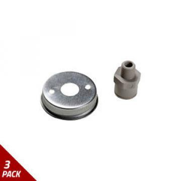 Robinair Oil Injector Cap and Fitting [3 Pack]