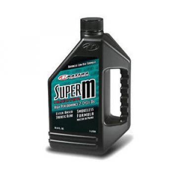 Maxima Super M Injector Synthetic Blend 2T Oil - 1 Liter