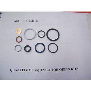 6.0L Powerstroke Diesel Injector O-ring Kit (includes HP oil rail seal) SET OF 8
