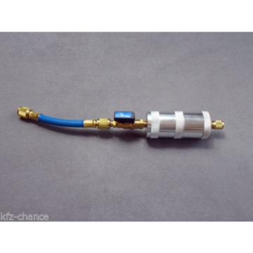 Refill Injector 1/4 SAE Injector for Fill in Oil and Fabric, UV Contrast medium