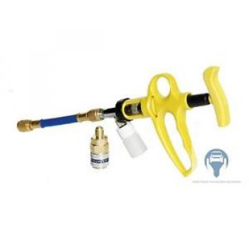 Refill Injector Oil Leak Detection Sealant Air Conditioning + Quick Clutch