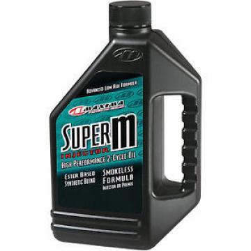 Maxima Lubricants Super M Injector Oil 2-Stroke Gallon Each 209128 289128