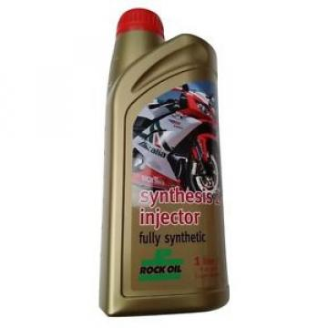 ROCK OIL SYNTHESIS 2 INJECTOR 1 LITRE 1L 2 STROKE MOTORCYCLE FULLY SYNTHETIC
