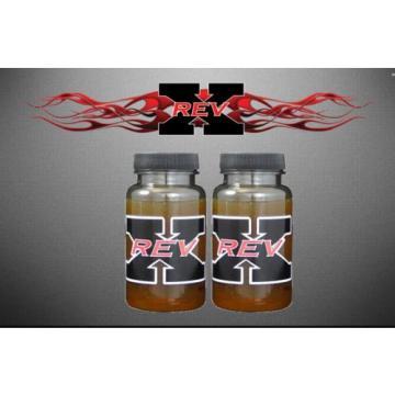 Rev - X Oil Treatment Additive Stiction Fix Injectors Diesel / GAS Engines QTY 2
