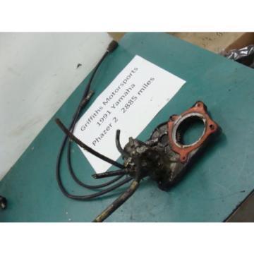 91 90 92 93 94 YAMAHA PHAZER 2 II pz485 INJECTOR OIL PUMP INJECTION TACH CABLE