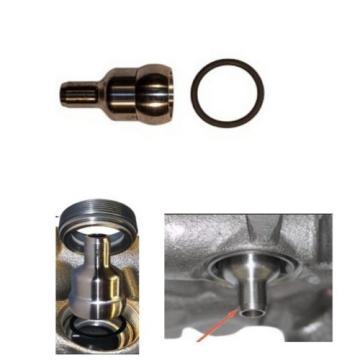 03-10 Ford 6.0L Powerstroke Oil Rail Injector Port High Pressure Oil Leak Fix
