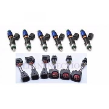 fit Nissan Skyline RB25DET rb25 gts-t gts-s r34 r33 bosch 1000cc Fuel Injectors