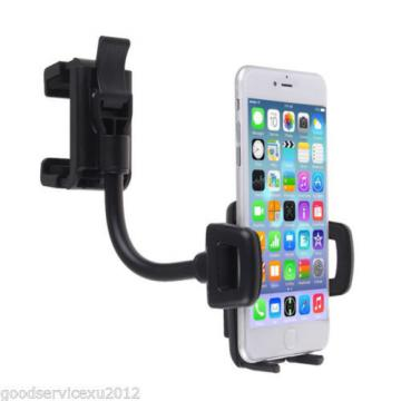 360° Car Autos Portable Rear View Mirror Cellphone Holder Bracket Stand Support