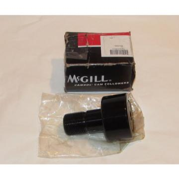"McGill CFH2 1/4SB Cam Follower, Flat Surface, Steel, 2-1/4"" Roller Diameter"