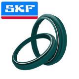 SKF Fork Oil Seal & Dust Wiper Green For 1996-2003 Yamaha WR250