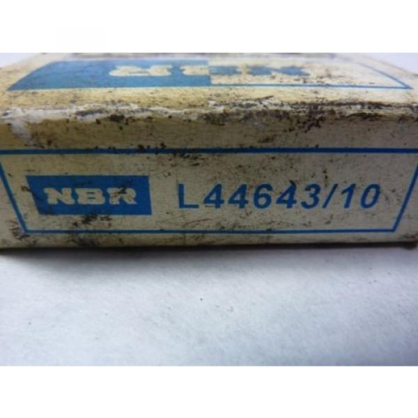 """NBR L44643/10 Tapered Roller Bearing 1"""" Bore  #3 image"""