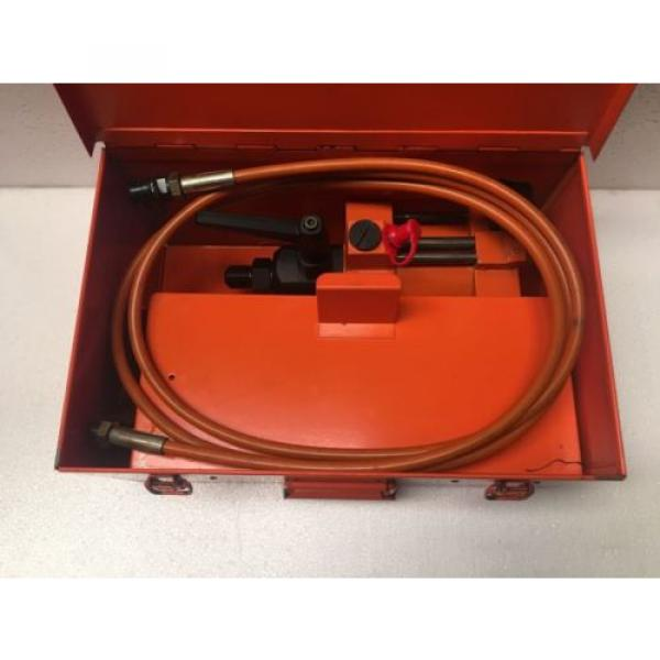 SKF THAP-150 AIR DRIVEN HYDRAULIC PUMP/AIR OPERATED PNEUMATIC OIL INJECTOR KIT #3 image