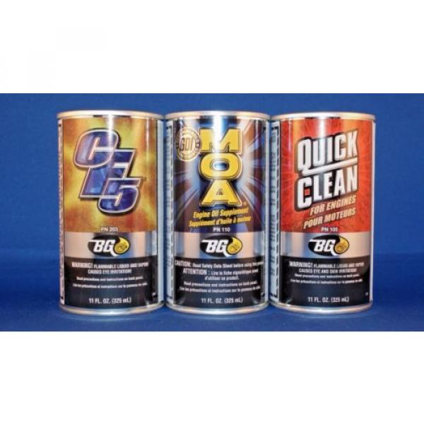 Bg cf5 moa quick clean  performance kit  injector cleaner oil additive engine #2 image