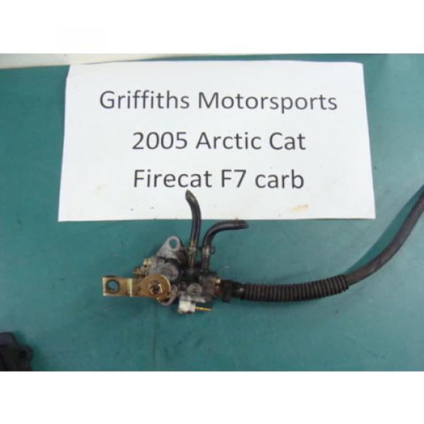 05 04 06 ARCTIC CAT FIRECAT F7 carb 700 SABRECAT? mikuni injector oil pump #1 image