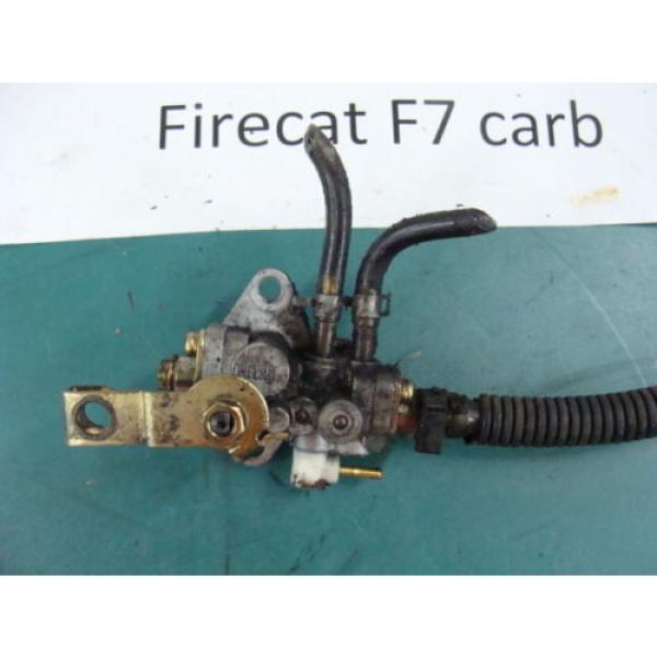 05 04 06 ARCTIC CAT FIRECAT F7 carb 700 SABRECAT? mikuni injector oil pump #2 image