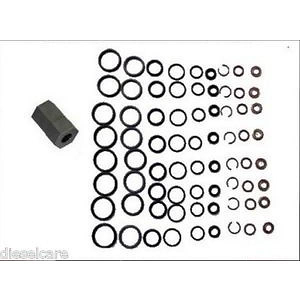 Ford 6.0L Powerstroke Oil Rail Leak Repair Kit,Tool,O-rings,+ Injector Seal Kits #1 image