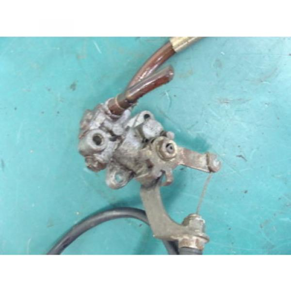 97 98 99 YAMAHA Vmax XTC 500 v-max 600 INJECTOR OIL PUMP INJECTION CABLE INJECT #4 image