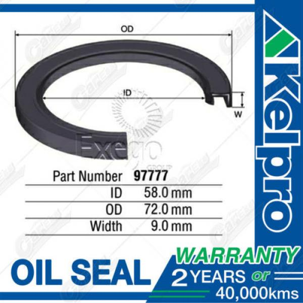 KELPRO Diesel Injector Pump OIL SEAL For TOYOTA Hilux KZN165R 4WD 1/98-3/06 #1 image