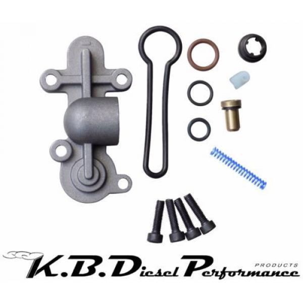 Upgraded Blue Spring Fuel Pressure Regulator Kit Ford Powerstroke 6.0L 2003-07 #1 image