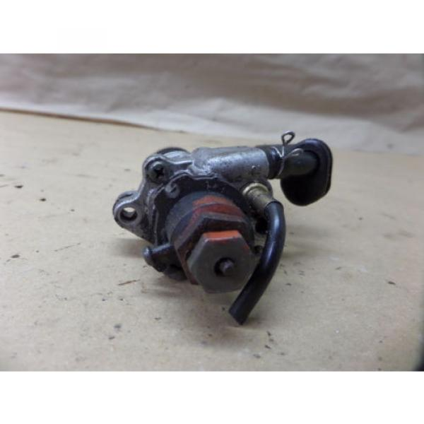 1997 YAMAHA PW80 OIL INJECTOR INJECTION PUMP AND GEAR ASSY OEM #4 image