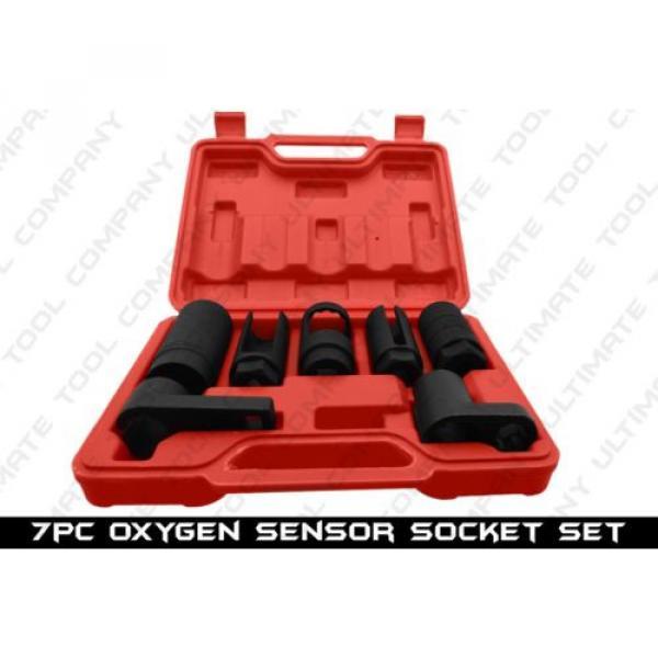 7pc Oxygen Sensor Socket Set HD Tool Kit Automotive Oil Pressure Sending Unit #1 image