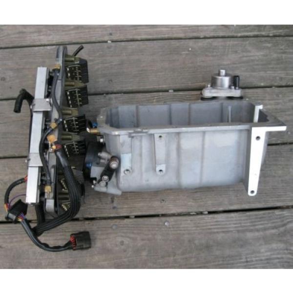 Mercury EFI Air Handler, Reeds, Injectors, Throttle body, Oil Pump & Plenum (JL) #3 image