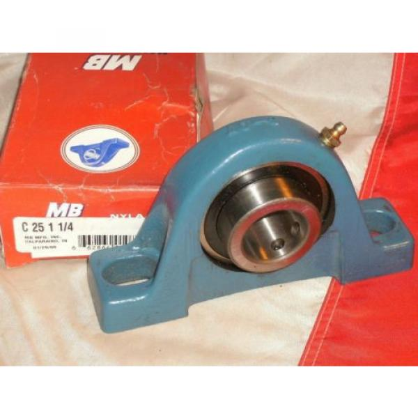 MB MCGILL C-25-1-1/4 NYLA-K PILLOW BLOCK BEARING C2511/4 #1 image