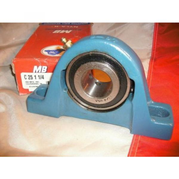 MB MCGILL C-25-1-1/4 NYLA-K PILLOW BLOCK BEARING C2511/4 #2 image