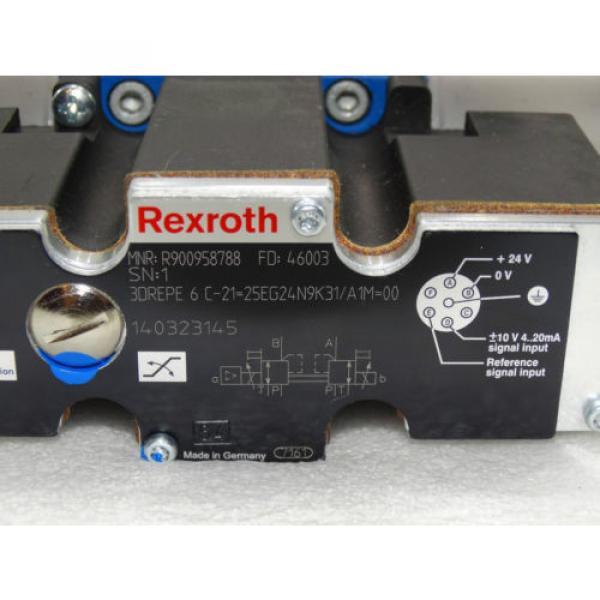 Rexroth  R900958788 / 3DREPE 6 C-21=25EG24N9K31/A1M=00  + R900755997 Invoice #5 image